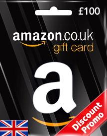 GBP100 Amazon Gift Card (UK) Discount Promo