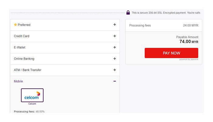 Checkout With Celcom Via Codapay Offgamers Payment Guide