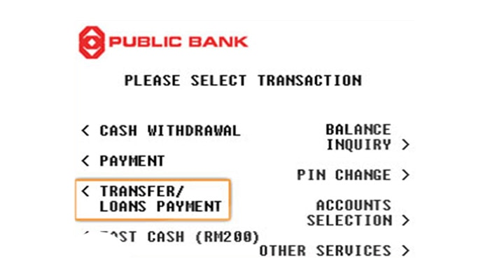 Checkout with Public Bank ATM / CDM / 3rd Party Transfer - OffGamers