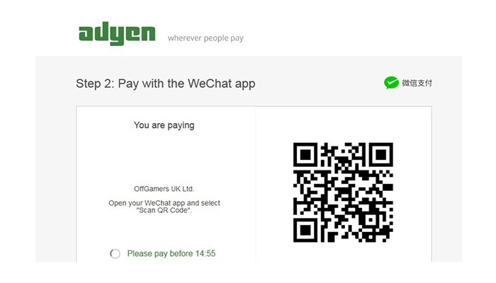 Checkout with WeChat Pay - OffGamers Payment Guide